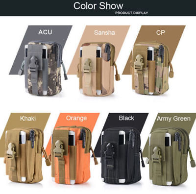 Pack Bag Tactical Pouch Fanny Phone Pocket v5 Molle Belt Waist Military Waist