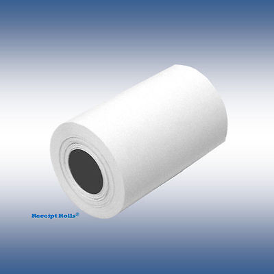"""Credit Card 2 1/4"""" x 50' Thermal Paper Rolls Nurit 8000 - 50 Rolls/case"""