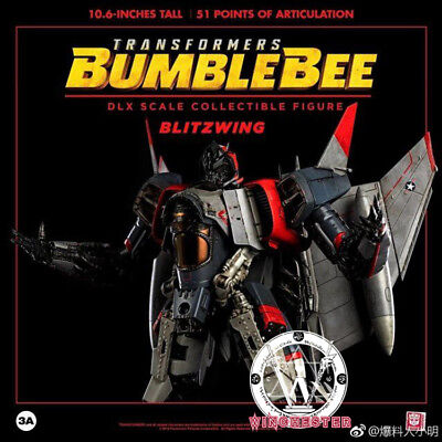 """3A TOYS Transformers 10.6"""" Bumble bee Blitz Wing DLX Action Figure New"""