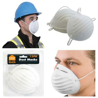 15 Disposable Nuisance Lightweight Dust Safety Mask With Elastic Strap Painting