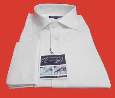 Exquisite French Made Formal Men's Dress Shirt By  Cotton Park