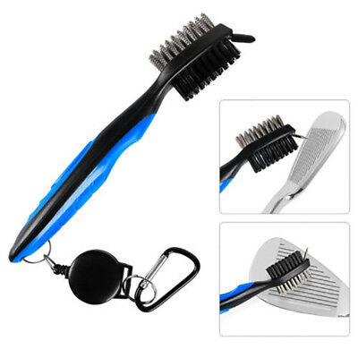 Golf Club Cleaning Brush Groove Cleaner Tool Iron Club Brush Hook to Gifts