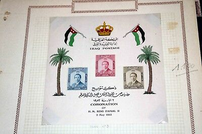 X Iraq 1918/1960s: Good old collection on pages, High CV!!