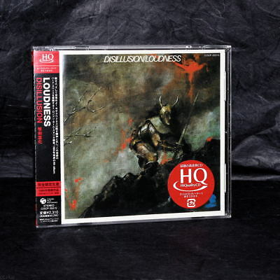 Loudness Disillusion JAPAN HQCD Limited Edition Heavy Metal Music CD NEW