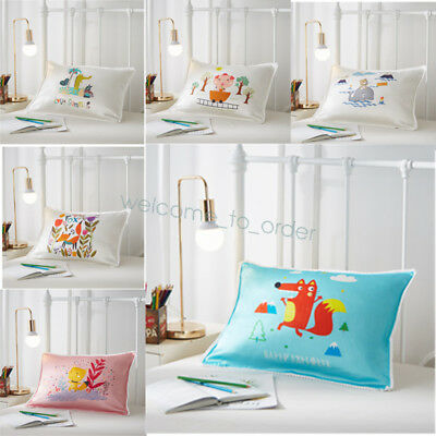 Soft 100% Mulberry Silk Pillowcase 19 Momme For Kids Pure Silk Pillow Cover 1PCS