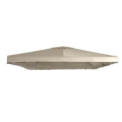 Universal 10' x 10' Single Tiered Replacement Gazebo Canopy - RipLock 350 - For