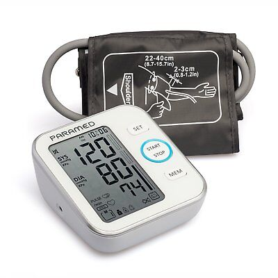 Blood Pressure Monitor Accurate Automatic Upper Arm Bp Machine & Pulse Rate 4AAA
