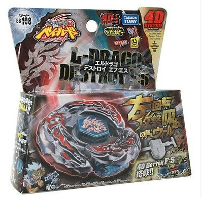 Beyblade Burst L-Drago Destroy (Destructor) Metal Fury 4D Beyblade BB108