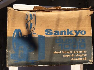 Proyector Sankyo Sound Super 8 PROXIMAMENTE DESCRIPCION Y FOTOS