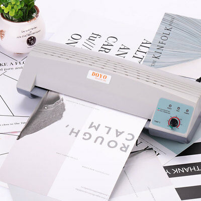 AC30 Thermal Laminator A4 Photo Paper Film Document Roll Machines Office Home