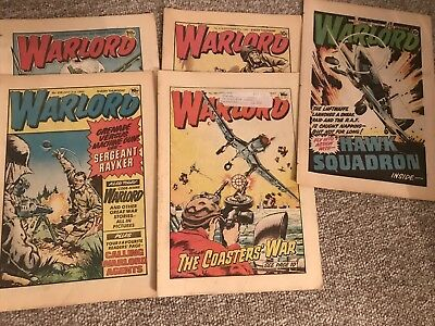 Bunch Of British Warlord Comics 70s And 80s