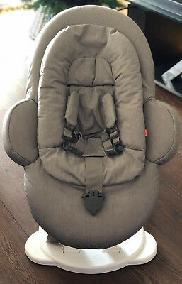Stokke Steps Bouncer in Greige, excellent condition, original manual included
