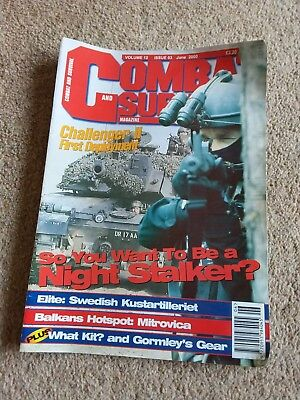 Combat and survival magazines over 100 from 2000 - 2015 approx collection only