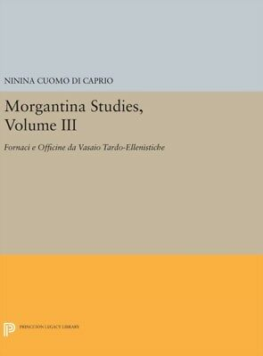 Morgantina Studies Volume Iii 8211