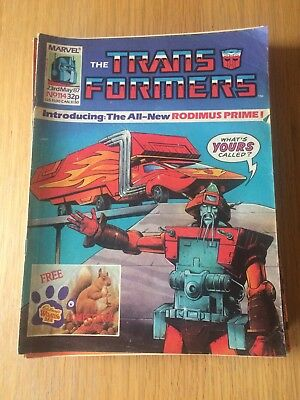 The Transformers Comics UK