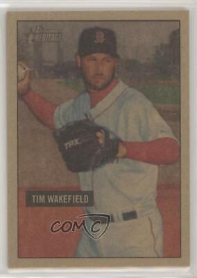 2007 Bowman Sterling Bs Tw Tim Wakefield Boston Red Sox
