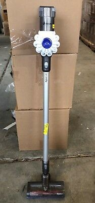 Dyson V6 Cord-Free Stick Vacuum Cleaner, White & 1 Free Tool/Accessory & Dock!