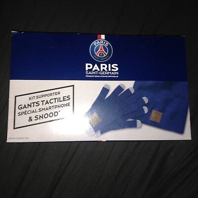Gants et Bonnet PSG Snood Paris Saint Germain