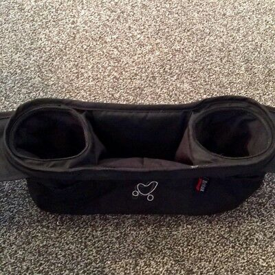 Britax Stroller Organizer and Cup Holder, Black - Used