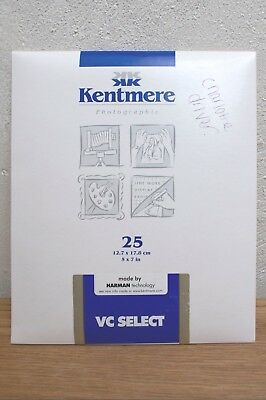 Kentmere VC Select Fine Lustre Black and White Paper