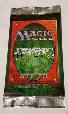 MTG Homelands booster WOC6508, English, Factory Sealed, Mint Condition, M:tG