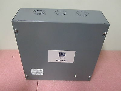 STG Security Card Reader Door Controller DC2000UL with RM-4 and Enclosure - NEW!