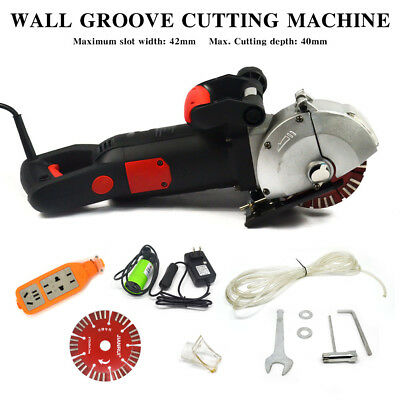 Commercial Electric Wall Chaser Groove Cutting Machine 4800W Slotting Machine