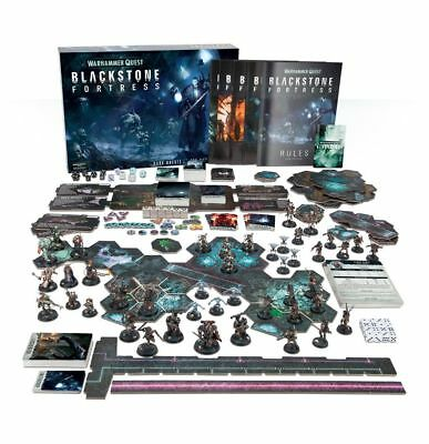 Warhammer Quest Blackstone Fortress Box And Game No Miniature ENGLISH Version