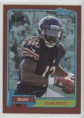 2015 Topps 60th Anniversary Target Red Foil #T60-KW Kevin White Chicago Bears