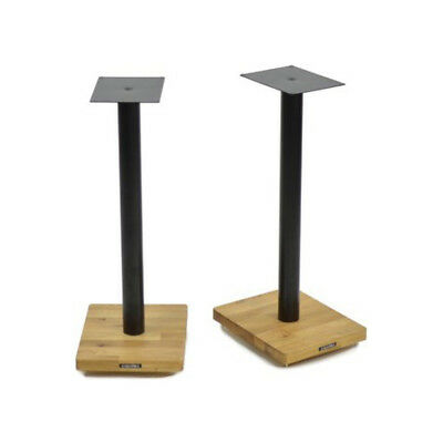 Apollo Cyclone 6 Speaker Stands (Pair) - Black Bookshelf Loudspeaker Mount