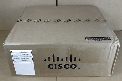 NEW Cisco WS-C3650-24PD-S Switch 24 Port 2x Expansion Slot Base-T 2x SFP 1U High