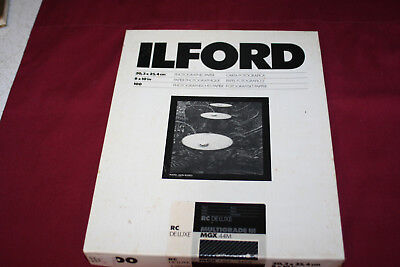 Ilford Multigrade III RC Deluxe MGX44M Pearl Photo Paper 8 x 10, 100 Sheets