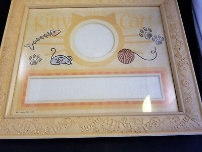 K & Co. Kitty Cat picture frame