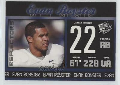 2011 Press Pass Blue Reflectors #35 Evan Royster Penn State Nittany Lions Card