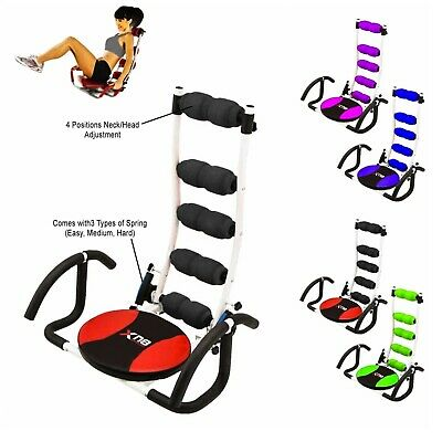Xn8 Abs Crunches Machine Rocket Chair Abdominal Fitness Gym Trainer Exercise