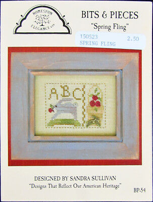 14x Xstitch Pattern  Spring/Summer/Welcome/Lavender/Snips&Snails/Sugar&Spice-SD2