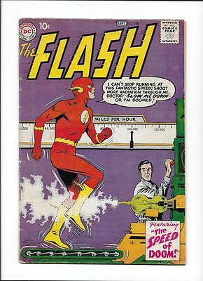 Flash #108 [1959 Vg+] Grodd Story Ends! 'the Speed Of Doom!'