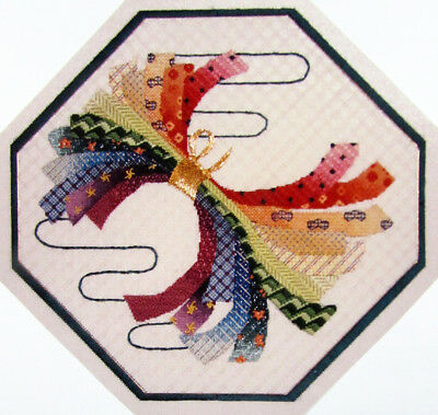3x Needlepoint Pattern  Japanese Ribbons/Cityscape Hearts/Santa's Village-PW9