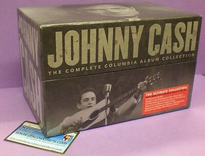Johnny Cash - The Complete Columbia Album Collection - Box Set 63 CDs Cardboard