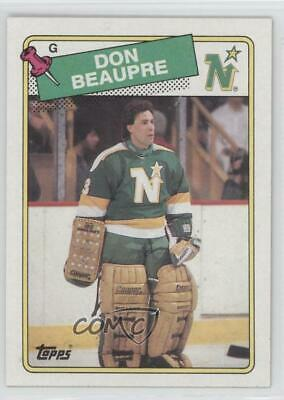 "DON BEAUPRE Minnesota North Stars 8/"" by 10/"" Photo Hockey Goalie Mask Pads #2"
