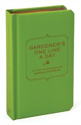 Gardener's One Line a Day: A Five-Year Memory Book (Journal) (Diary)