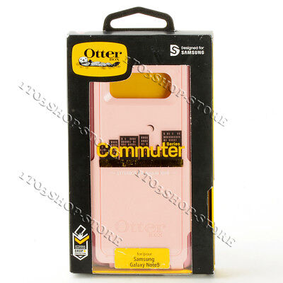 OtterBox Commuter Hard Case for Samsung Galaxy Note 8 Ballet Way Salt/Blush Pink