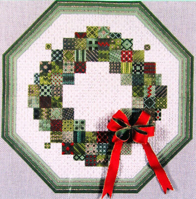 4x Needlepoint Pattern  Wreath/Scheherazade/Adobe Sunrise/Parallel Dreams-ML49