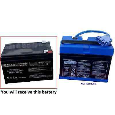Peg Perego Gator Polaris Gaucho Hummer Battery 12V 12Ah Replacement Battery *USA