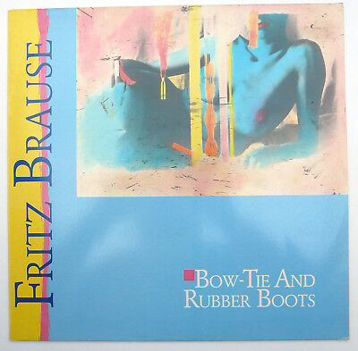 "Fritz Brause - Bow-Tie And Rubber-Boots 12"""" Vinyl Papagayo  LP OIS 1986"