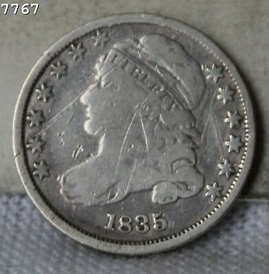 1835 Capped Bust Dime *Free S/H After 1st Item*