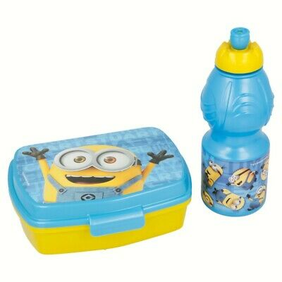 Set Vuelta Al Cole 2 Pcs. (Botella Sport Y Sandwichera) Minions Rules