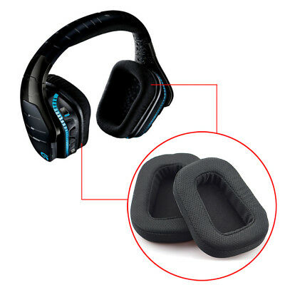 1Pair Ear Pads Replacement Cushion for Comfort QLogitech G633 G933 Headphones