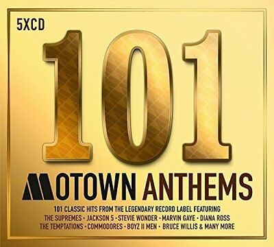 101 Motown Anthems - New 5 CD Box Set / Free Delivery