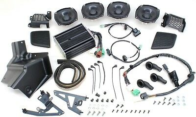 Honda Power Amp & Rear Speaker Atch Kit 2018+ GL 1800 Gold Wing Base Model #N262